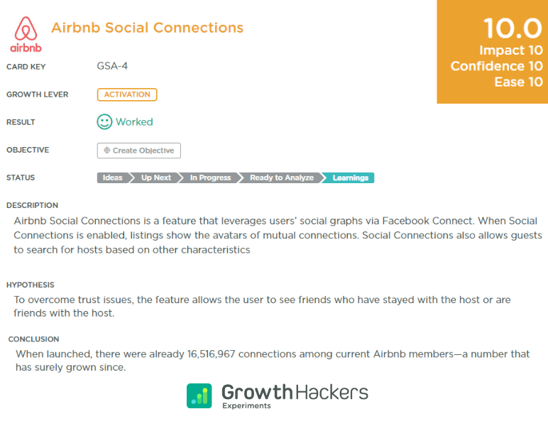 Airbnb Social Connections