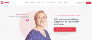 Twilio SMS công cụ marketing automation