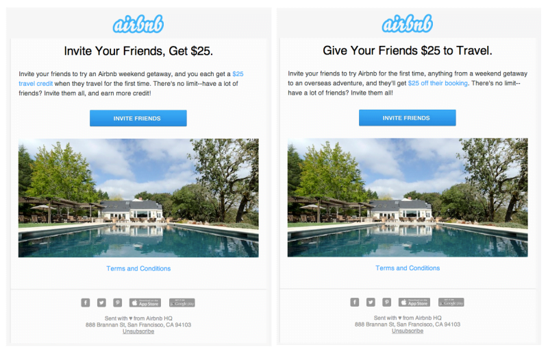 airbnb give get