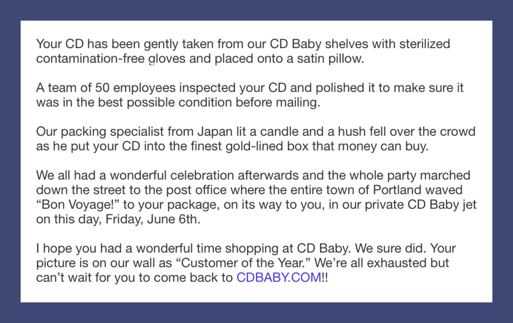 CD Baby Growth Hacking