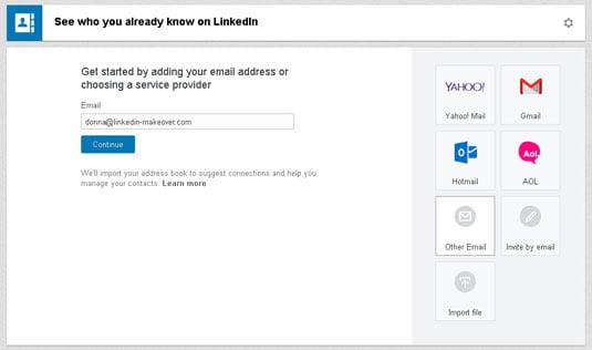 linkedin profile add contact