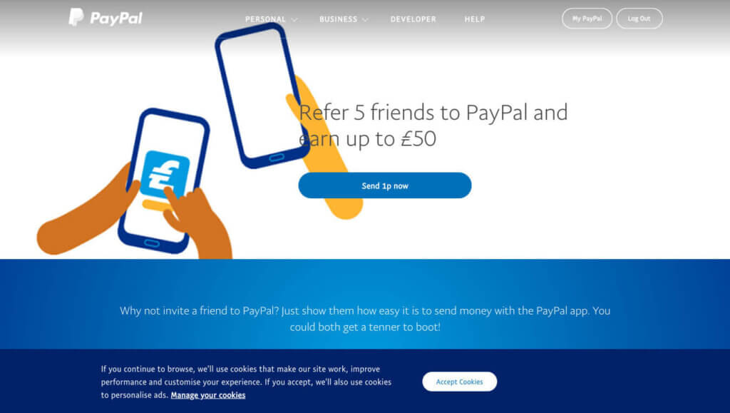paypal truyền miệng