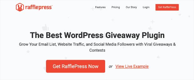 rafflepress contest